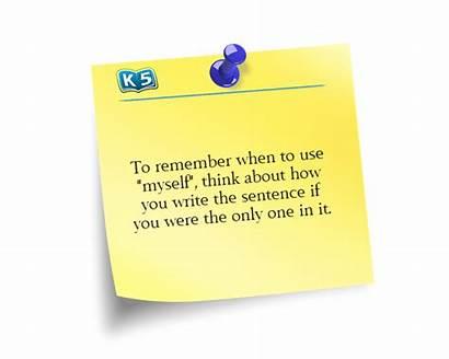 Myself Grammar Them Pronoun Learning K5 Reflexive