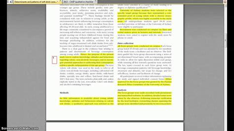 critical appraisal   qualitative study youtube