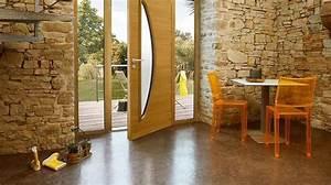 porte d39entree porte coulissante porte de garage en With porte d entrée pvc avec mur salle de bain