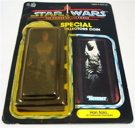 Star Wars POTF 1984 - Kenner - Han Solo (In Carbonite Chamber)