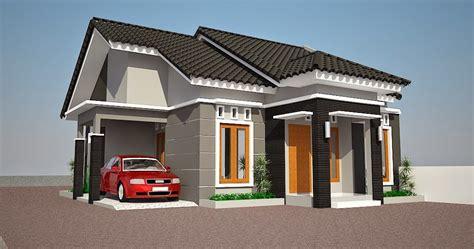 gambar contoh desain rumah minimalis type   lantai