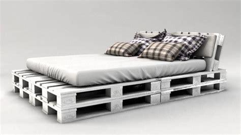 Europaletten Bett Weiß by Palettenbett Bauen Ganz Einfach Hier 2 Praktische