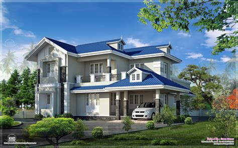 villa floor plans beautiful 4 bedroom villa exterior home kerala plans