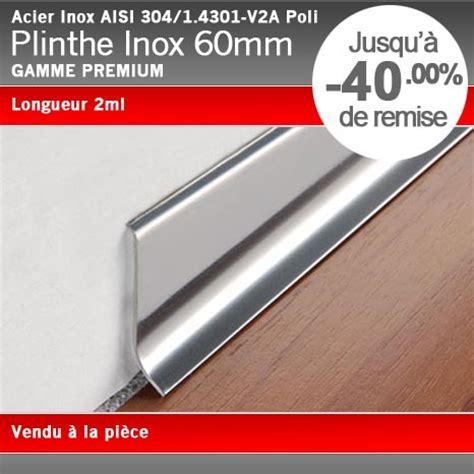plinthe inox cuisine plinthe acier inox poli 60mm plinthe alu com