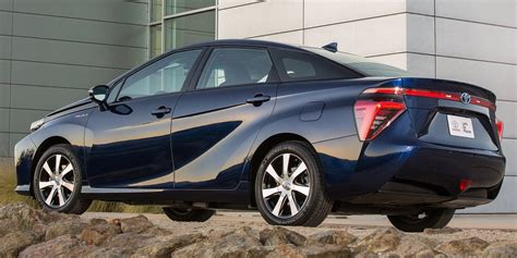toyota na toyota mirai hydrogen fuel cell vehicle headed to