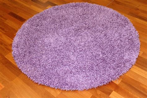 teppich rund 120 cm rund teppich 120 cm fancy lila trendcarpet de