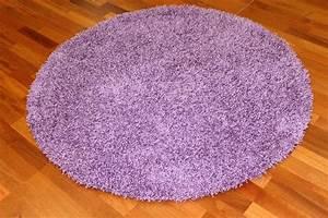 Teppiche Rund 200 : rund teppich 200 cm fancy lila ~ Markanthonyermac.com Haus und Dekorationen