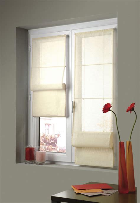 Vorhänge Für Fenster by Easy Fix Fenster Raffrollo Rollo Faltenrollo Vorhang