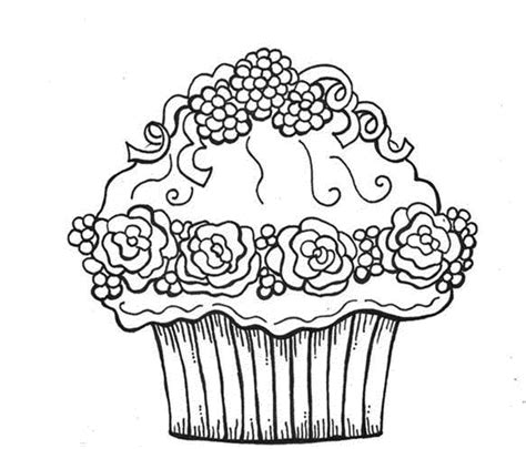 cupcake coloring pages az coloring pages