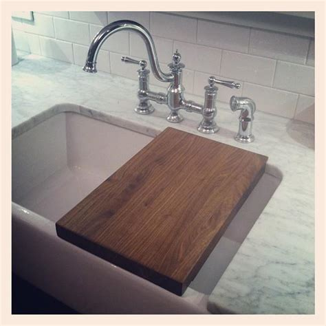 kitchen sink chopping board kitchen hacks 31 clever ways to organize and clean your 5676