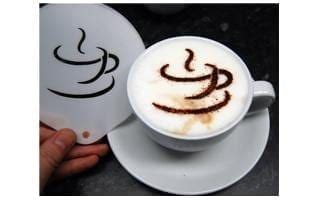 See more ideas about art, coffee shop, coffee art. Coffee Cup Style Stencil - Latte Art   Shop Coffee