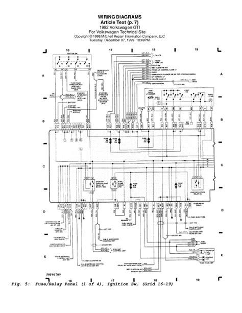 golf  wiring diagrams eng