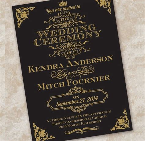 Wedding Invitation Etiquette 17+ PSD Indesign Format