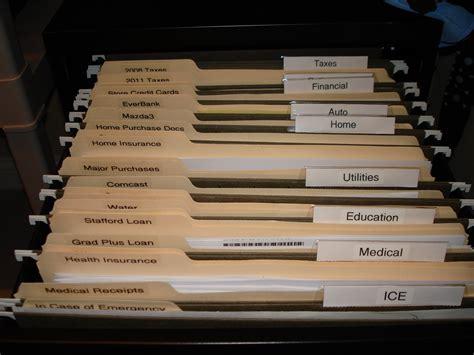 File Folder Cabinet - neat freak wannabe master plan april project the
