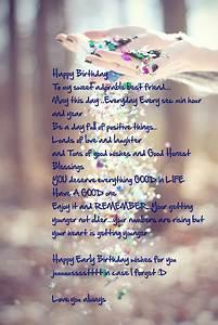 Best Friend Birthday Quotes. QuotesGram