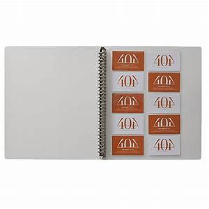 X business card sheet protectors 25 pack officeworks for Business card sheet protectors