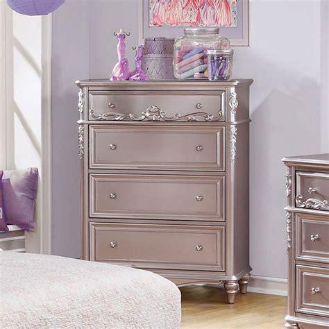Bedroom Furniture Stores Carolina by Caroline Chest Metallic Lilac Coaster Furniture