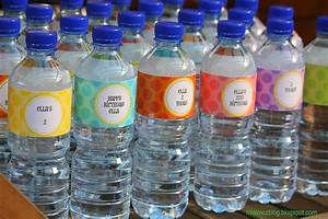 1000 images about water bottle labels on pinterest mad With how to make your own labels for bottles