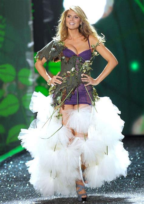 Heidi Klum Victorias Secret Fashion Fashion Naturally