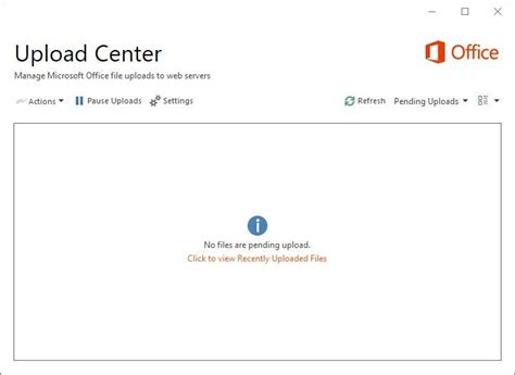 Office Upload Center by How To Disable The Microsoft Office Upload Center Ghacks