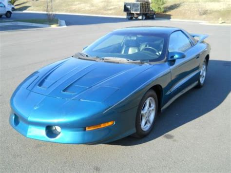 electric and cars manual 1994 pontiac firebird transmission control purchase used 1994 pontiac firebird trans am coupe 2 door 5 7l 6 speed manual transmission in