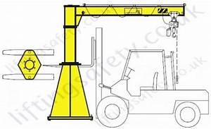Vetter Portable Pillar Jib Crane With Max Reach 5000mm