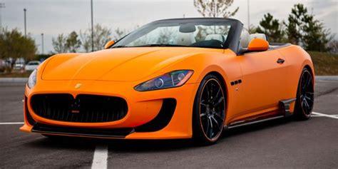 maserati orange maserati granturismo sovrano atomic orange cars