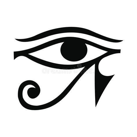 eye  horus icon simple style stock vector