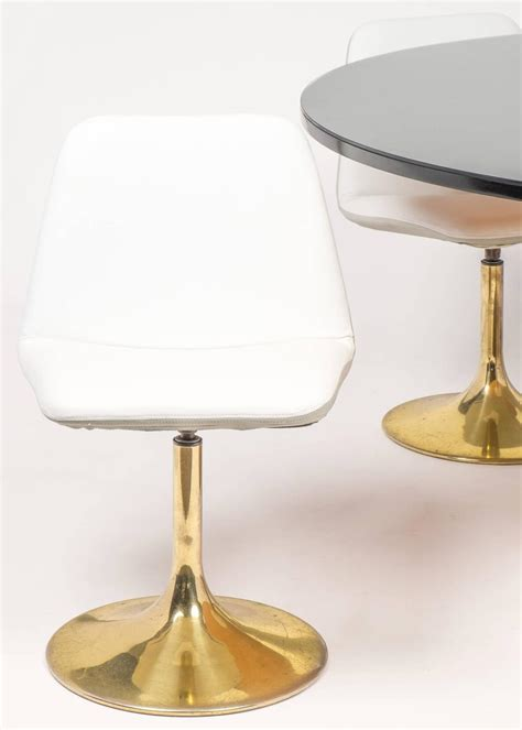 tulip table and chair dining set at 1stdibs