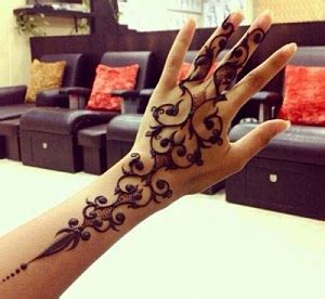 macam macam desain henna dari berbagai negara contoh gambar henna