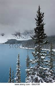 Winter Snowfall Picture of the Valley of Ten Peaks