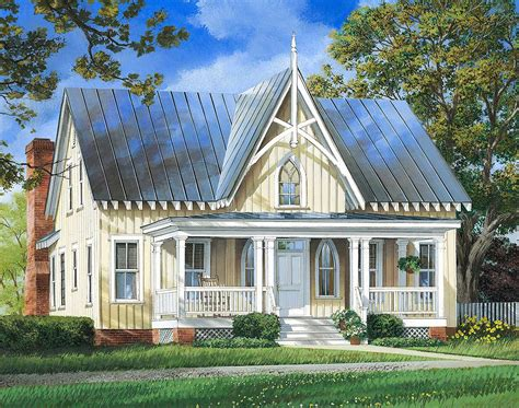 Cottage House Plan by Charming Cottage House Plan 32657wp Architectural