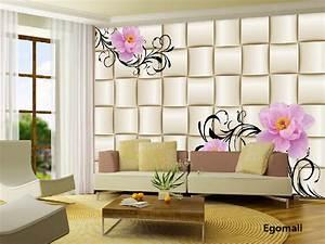 Simple modern 3D Wallpaper the living room bedroom TV ...
