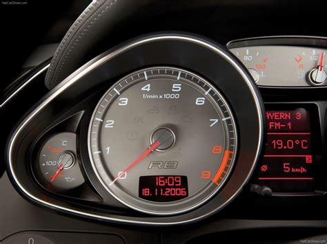 Audi R8 V10 Spyder Speed Meter