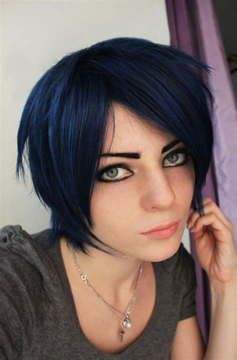 Win Your Hairs Adorning Stares By Coloring Them Blue