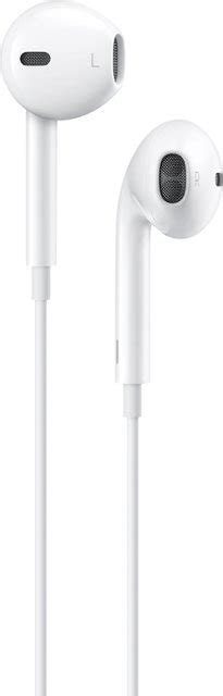 apple earpods with lightning connector white mmtn2am a best buy