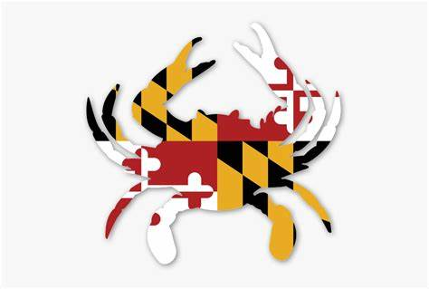 Access 27 svg freelancers and outsource your project. Clip Art Maryland Crab Logo - Maryland Flag Crab Svg ...
