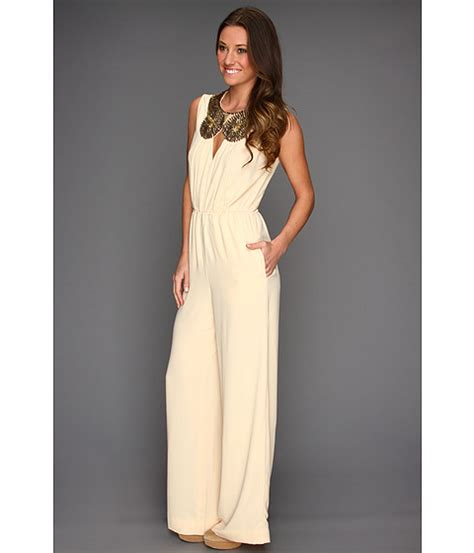 black jumpsuit for wedding what to wear to all white 2013 rachael edwards