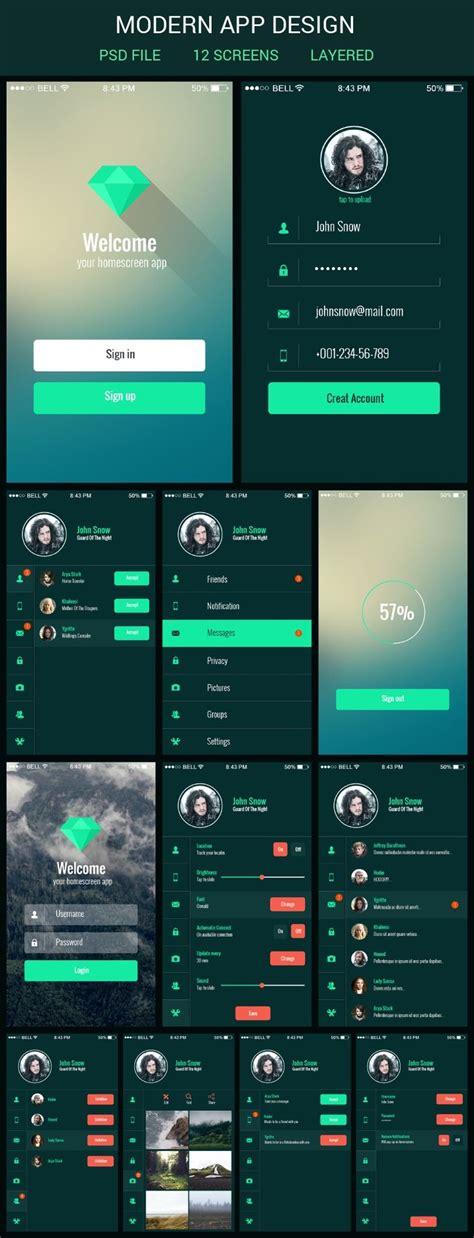 mobile apps mobile app ui kit graphberry branding ios app