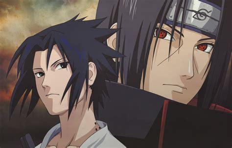 Wallpaper Headband, Brothers, Sasuke, Naruto, Red Eyes