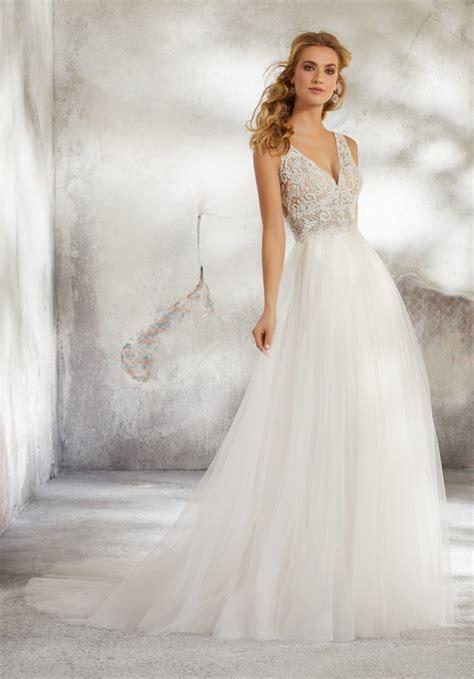 lucinda wedding dress style  morilee