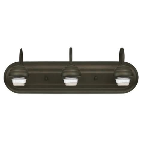 westinghouse 3 light rubbed bronze wall fixture