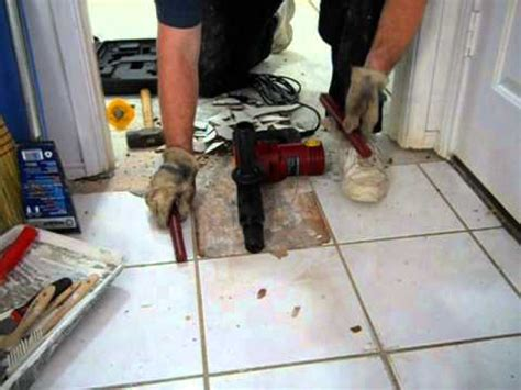 harbor freight 10 demolition hammer vs ceramic floor