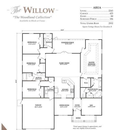 willow   bedroom  bath home  bellechase oak hammock   home community  ocala fl