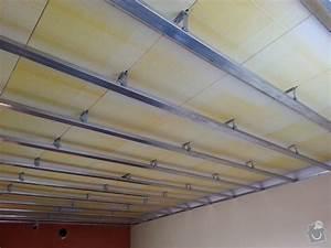 Sádrokarton na rákosový strop