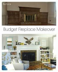brick fireplace remodel 25+ best ideas about Brass fireplace makeover on Pinterest   Mantle decorating, Fireplace redo ...