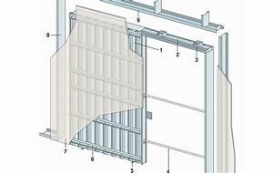 Comment Monter Une Porte Coulissante : monter une porte coulissante en trois tapes ~ Melissatoandfro.com Idées de Décoration