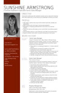 Curriculum Vitae Sles For Managers by Senior Sales Manager Resume Sles Visualcv Resume Sles Database