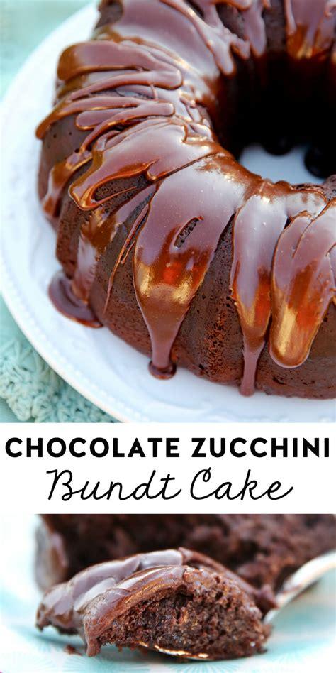 zucchini bundt cake the best chocolate zucchini bundt cake 1545