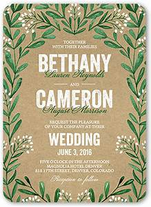 exquisite filigree wedding invitation green wedding With shutterfly beach wedding invitations